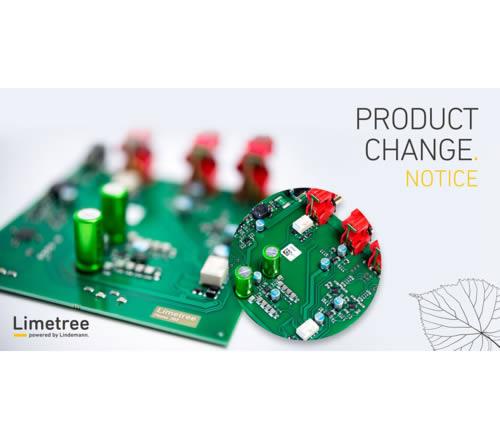 Product Change Notice
